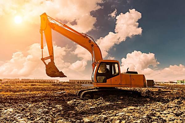 成都大型挖掘机租赁